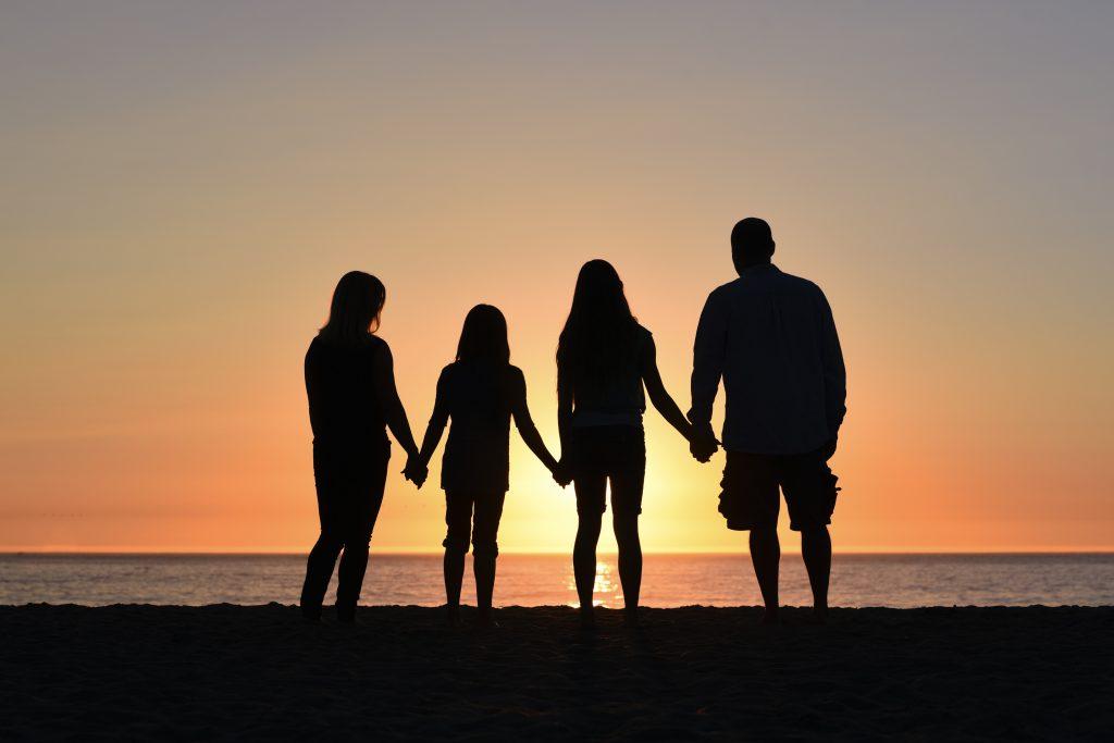 Family at Sundown